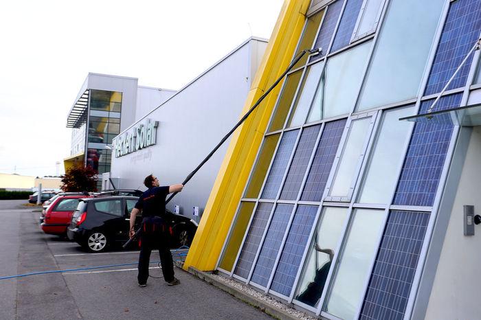 Solaranlage Reinigen Osmosereinigung Fur Fenster Und Solaranlagen